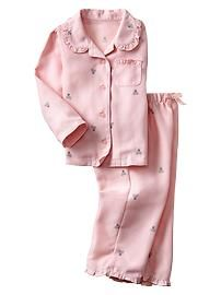 Brannan bear classic PJ set, could be standard for girls uniform pjs Toddler Girl Outfits, Baby Girl Dresses, Baby Dress, Kids Outfits, Baby Girl Fashion, Toddler Fashion, Kids Fashion, Kids Nightwear, Girls Sleepwear