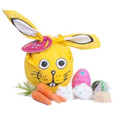 Funny Bunny Gift: This Funny Bunny is filled with six inventions to treat you to the joys of spring.