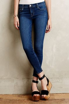 J Brand 835 Skinny Crop Jeans #anthropologie