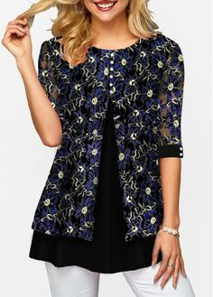Front slit button detail round neck t shirt 17 outfit ideas for spring to get you through the week Trendy Tops For Women, Trendy Fashion, Womens Fashion, Casual Tops, Blouse Designs, Fashion Dresses, Fashion Belts, Casual Outfits, Clothes For Women