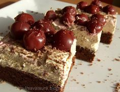 Romanian Desserts, Russian Desserts, Romanian Food, Cookbook Recipes, Sweets Recipes, Cooking Recipes, Sweets Cake, Dessert Bread, Something Sweet