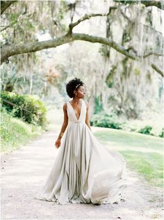Carol Hannah Wedding Dress, Color Wedding Dress, by Perry Vaile Photography