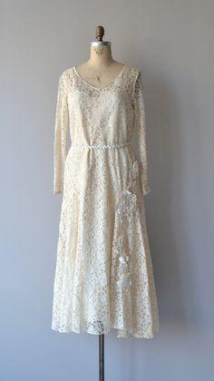 Amata Bene dress lace 1920s wedding dress vintage by DearGolden