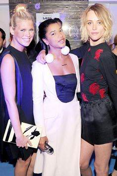 Fashion Weeks' Finest Fetes: Spring 2014 - Saks Fifth Avenue Celebrates Dior Fall 2013 Alexandra Richards in Dior, Hannah Bronfman in Dior and Milou Van Groesen