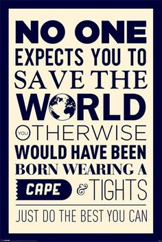 Empire 558749 Motivational – Save The World Zitate Sprüche Motivationsposter Plakat Druck 61 x 91.5 cm