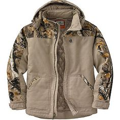 Men's Big Game Canvas Cross Trail Workwear Jacket | Legendary Whitetails