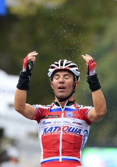 Gallery 2013: Through the lens of Roberto Bettini - Joaquim Rodríguez celebrates after winning Il Lombardia