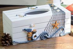 tissue cover for basketball ile ilgili görsel sonucu Seashell Art, Seashell Crafts, Beach Crafts, Tissue Box Covers, Tissue Boxes, Tissue Holders, Kleenex Box Crafts, Beachy Room, Seashell Projects