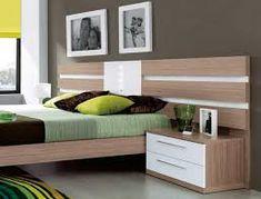 Resultado de imagen para camas modernas matrimoniales Bedroom Furniture, Home Furniture, Furniture Design, Bedroom Decor, Home Office Bedroom, Modern Bedroom, Diy Storage Bed, Cama King, Low Loft Beds