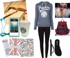 """""""Late night studying"""" by bridgetchin on Polyvore"""