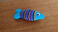 Crochet fish / Hæklet fisk Crochet, Blog, Accessories, Dishcloth, Velvet, Creative, Chrochet, Crocheting, Knits