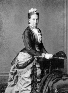 Princesse Maria Ana de Bragance (1843-1884) infante du Portugal, fille de la reine Marie II de Bragance, épouse du prince Frédéric-Auguste duc de Saxe