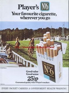 Cheap Sports Cars, Magazine Advert, Cigarette Brands, Wolverhampton, Old Ads, Horse Racing, Vintage Ads, Childhood Memories, Growing Up