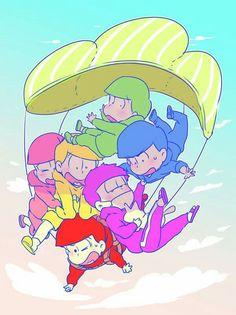 Osomatsu-san Season 2 has landed! Otaku, Comedy Anime, Laughing And Crying, Ichimatsu, The Brethren, Anime Characters, Fictional Characters, South Park, Anime Love