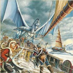 White Dragon | ... white dragon was larry elmore s cover for dragonlance s dragons of ice