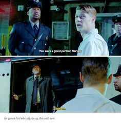 #Gotham  Jim & Harvey, I'm kind of glad this isn't too much of a spoiler for me..I sort of barely started season 2 soo.