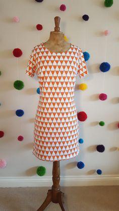 Women's T-shirt dress. Womens T Shirt Dress, Uk Size 16, Fox Print, Size 16 Dresses, Organic Cotton, Short Sleeve Dresses, Couple, T Shirts For Women, Summer Dresses