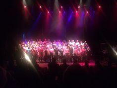 Stagelight by Tore Thorsen. Choir consert. boneskoret.no