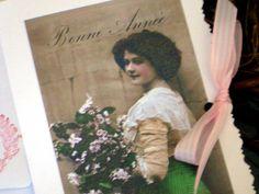 Karte zum Geburtstag von White Roses auf DaWanda.com