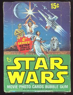 Star Wars (Series 4)  Trading Cards by Topps