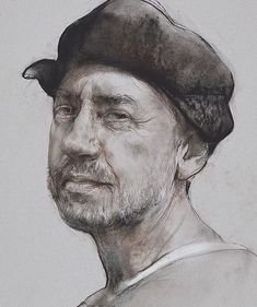 VIDEO presentation - Life Drawings by Nikolai Blokhin, a contemporary fine artist from Russia, who keeps the old traditions of the Russian art school alive. Guy Drawing, Drawing Skills, Life Drawing, Figure Drawing, Drawing Sketches, Art Drawings, Portrait Sketches, Pencil Portrait, Portrait Art
