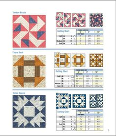 Have a look at these Civil War pattern blocks from Country Heritage Tours.