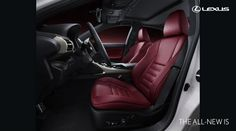The Lexus IS F-Sport, also known as the IS-F, is the range topping, tail-sliding version of the IS sports car. Lexus Gs300, Lexus Lfa, Lexus Dealership, Automobile, New Lexus, Mens Gear, Digital Trends, Red Interiors, Car And Driver