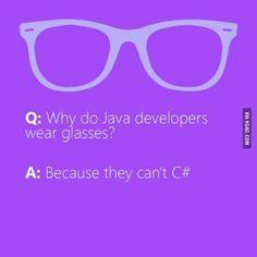 Geek humour. #developer #problems C#