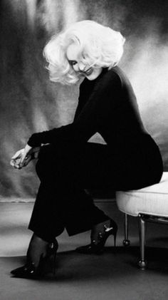 Jessica Lange photographed by Ruven Afanador (2017). Follow rickysturn/photography