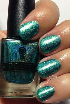 Lollipop Posse Lacquer Cool Kids Never Have the Time in direct light
