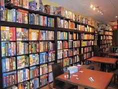 We boardgamegeeks call this Shelf Pron