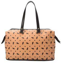 Bolsa feminina com estampa gatos   Bolsas   De Mulher Para Mulher, Marisa