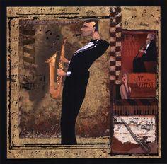 Jazz Sax - CW Designs