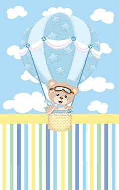 Scrapbook Bebe, Baby Boy Scrapbook, Baby Clip Art, Bear Theme, Baby Shower Niño, Baby Shawer, Baby Footprints, Boy Baptism, Baby Album