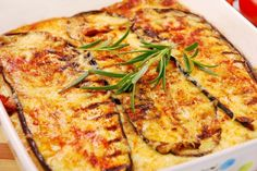 Greek Moussaka topped with béchamel sauce. This is one of the Easter Food Tradition Around the World mywebtravelagent.com