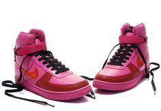 Nike Air Force 1 Alto Mujer Zapatos Peach Blossom http://www.esnikerun.com/