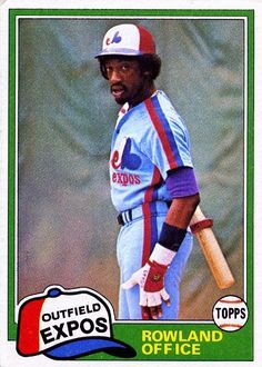 Roland Office - Montreal Expos - 1981 Topps
