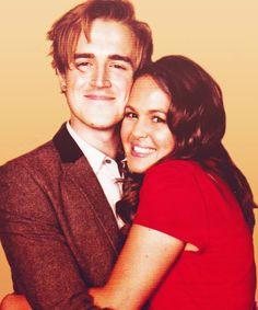 Tom and Gi Fletcher