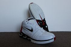 Nike Shox Vince Carter IV 2004 (White Black – Varsity Red) 3174c0a7f