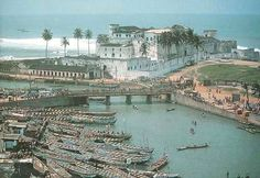 Fort Elmina in Ghana, from where thousands of slaves were transported from Africa to the Americas is the oldest European building in existence below the Sahara. It was erected by Portugal in 1482.