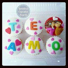Cupcakes Pareja Amor (love couple)