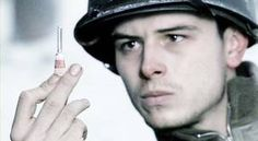The medic from Band of Brothers. Eugene Roe.