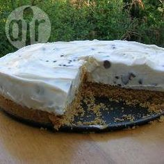 No-bake lemon cheesecake with chocolate chips @ allrecipes.co.uk