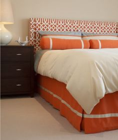 orange and grey- new color obsession.
