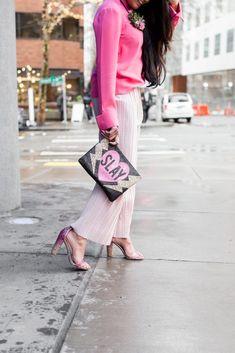 7 Amazing Ideas To Celebrate Galentine's Day Ft. Urbane Restaurant - Sveeteskapes  #Galentinesdayideas #galentinesday #valentinesdayideas #valentinesdayoutfit #valentinesdaynails #pinkheels #pinkblouse #pleatedpants #valentinesdaybrunch #brunchideas #seattlebrunch #seattlefood #seattlerestaurants