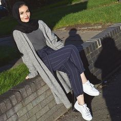 Casual hijab fashion style