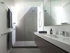 Modern Brighton #House in Victoria by InForm #Design - beautiful #bathroom
