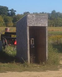 It is common for Amish communities to allow the use of telephones, but not in the home. Instead, several Amish families will share a telephone in a wooden shanty between farms.