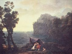 Claude Lorrain Paintings | Acis and Galatea