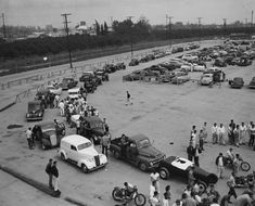 Vintage Drag Racing - Pomona - 1952